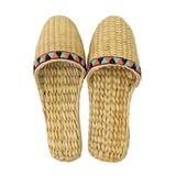 【Summer slippers】ガマスリッパ ジグザグ柄テープ