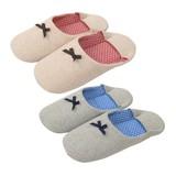 【Summer slippers】バブーシュ ドット(M)