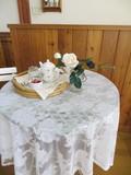 【SALE】【ルーシー】テーブルクロス<花柄・バラ柄>