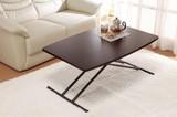 【直送可】【送料無料】木製昇降式フリーテーブル