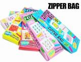 ★ちょっとかわいい保存用袋★ZIPPER BAG【ジッパーバッグ】