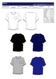 Attached Plain T-shirt