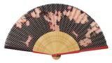 ◇夏商品 扇子袋付【桜と猫】(21cm)