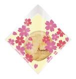 シュークリーム袋 桜 100枚