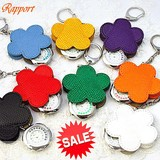 Sleeveless Shirt Flower Key Ring Watch Color Key Ring Clock/Watch