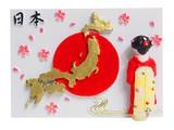 日本マグネット 日の丸◆外国人観光客向け.お土産.新柄◆