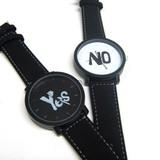 【今夜は、、、】YES!NO!腕時計