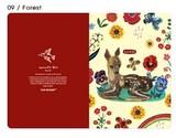 【ナタリーレテ 】  GREETING CARD  09  Forest