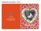 【ナタリーレテ 】  CARD(CONGRATULATIONS Cat)