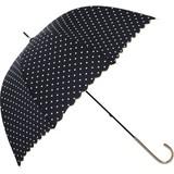 《2016》【雨傘】長傘 ドットスカラップスリム
