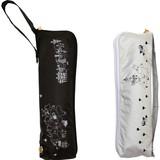 【moomin】【雨傘】折傘 遮光ムーミンファミリー柄ミニ