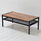 天然木製リビングテーブル PT-900BRN ディスプレイ