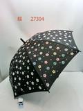 通年新作)雨傘・長傘-婦人 濡れるとカラフルな色が浮き出る桜柄&猫柄ジャンプ雨傘