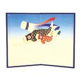 【予約販売】 イラスト屏風 鯉のぼり [端午・こどもの日]  [端午の節句]