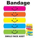 【アメ雑/アメリカ雑貨】Bandage Smile Face Asst/バンドエイト/絆創膏/スマイル