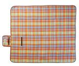 ピクニックル レジャーシート マドラスチェック 全2サイズ (アウトドア/2〜3人用/3〜5人用)