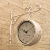 【SALE】【壁掛け時計】ノーブルアイアン[ボースサイド ウォールクロック(L)]