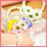 お花のパールブレスレットA