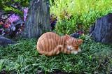 Sleep Cat Ornament