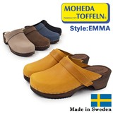 【MOHEDA TOFFELN モヘダトフェール】 サンダル サボ  スウェーデン製 クロッグ ウッドソール