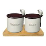 【砂糖とお塩が固まらない】 シュガーポット/ソルトポット/ドライポット300ml