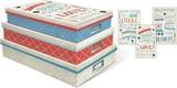 MOLLY&REX ドキュメントストレージBOX 3サイズ1セット メッセージ