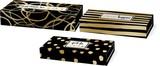 MOLLY&REX ペンシルBOX 3サイズ1セット ブラック&ゴールド