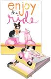 MOLLY&REX ポケットノートパッド <犬×バイク>