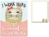 MOLLY&REX ポケットノートパッド <猫>