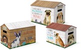 MOLLY&REX ハウスBOX 3サイズ1セット <犬>