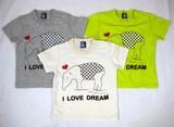 【2016年夏新作】【Bateau Bleue】I LOVE DREAM Tシャツ(半袖)