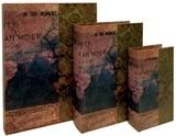 【別途送料】ブックボックス『ETERNITY IN AN HOUR』/ブック型収納ボックス/小物入れ/インテリア雑貨