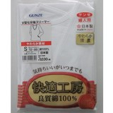 【日本製☆グンゼ新快適工房】婦人 良質綿100% 七分袖スリーマ
