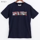【2016年春夏新作】クルーネック半袖プリントTシャツ NORTH SHORE