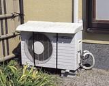 【直送可】【送料無料】伸縮式エアコン室外機カバー
