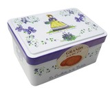 フランス バイオレット缶 バターショートブレッド130g