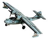ブリキのおもちゃ(flying boat)【27479】