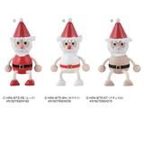 【クリスマス先行販売(10月中旬出荷)】木の人形・サンタクロース/ハラチキ