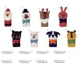 【クリスマス先行販売(10月中旬出荷)】フェルトフィンガーパペット/モココ
