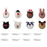 【クリスマス先行販売(10月中旬出荷)】フェルトマグネットマスコット/モココ