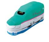【プラレール】ミニ抱き枕 はやぶさ<新幹線型クッション>