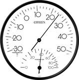 新品!シチズン 温湿時計 TM-109  9CZ057-003