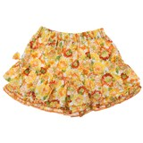 2016 Summer RIPUKA Fabric Floral Pattern Culotte Pants