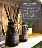 【John's Blend リードディフューザー】カフェスタイルが新鮮!しっかり香りが楽しめる芳香剤