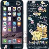 ポムポムプリン iPhone6s/6ガラスフィルム 黒板 SAN-545B