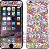 マイメロディ iPhone6s/6ガラスフィルム 総柄 SAN-543B