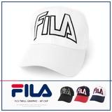 【2016新作】FILA フィラ ビック ロゴ ベースボールキャップ Big Logo Baseball Cap