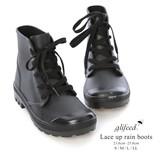 ◆レースアップレインブーツ/長靴/雨具/雑貨◆422686