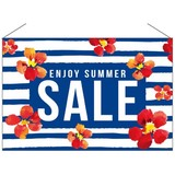 ENJOY SUMMER SALE タペストリー