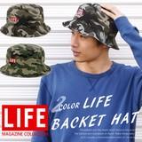 【2016新作】CASTANO LIFE マガジン ハット バケットハット バケット カモフラ メンズ レディース 帽子